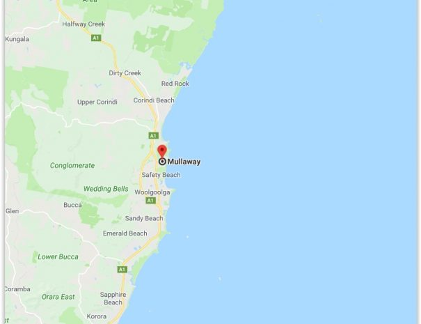 Coffs Coast Map 1